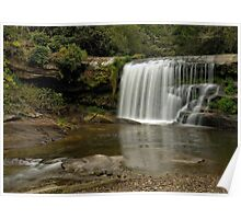 Mill Shoals Waterfall Poster