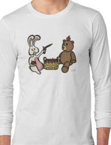 Teddy Bear And Bunny - A Dangerous Game Long Sleeve T-Shirt