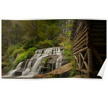 Mill Shoals Waterfall 2 Poster