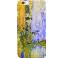 Impressionist Landscape - Claude Monet iPhone Case/Skin