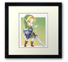 Chibi Link Framed Print