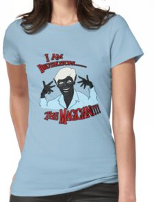Brutalitops...the magician Womens Fitted T-Shirt