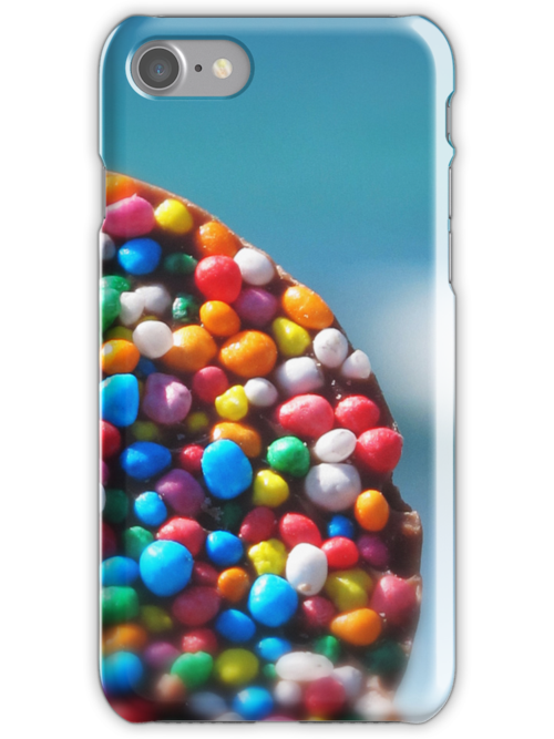 blue freckles iPhone iPod case by © Karin Taylor