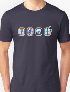 Pixel Delta Squad Helmets (Group) Unisex T-Shirt