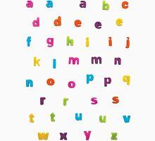 """Alphabetic Fridge """"Magnets"""" Men's Baseball ¾ T-Shirt"""