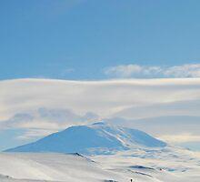 Mt. Erebus Volcano McMurdo Station - Antarctica by cactus82