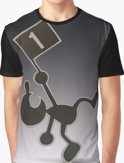 Mr. Game & Watch Graphic T-Shirt