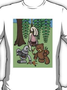 Teddy Bear And Bunny - Making The Most Of It T-Shirt