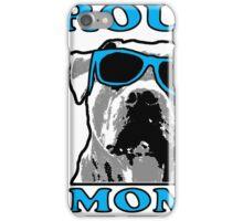 PROUD PIT BULL MOM 2 iPhone Case/Skin