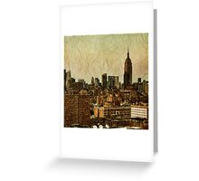 Empire Stories Greeting Card