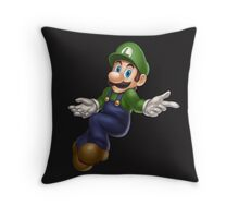 Luigi Throw Pillow