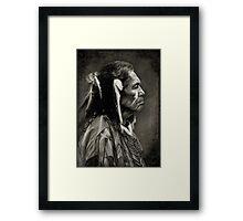 Native American - Vintage Framed Print