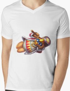 King Dedede Mens V-Neck T-Shirt