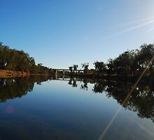River Reflection by cactus82