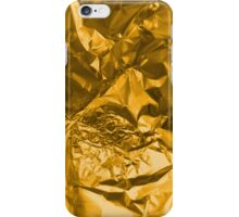Gilded face iPhone Case/Skin