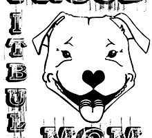 PROUD PIT BULL MOM by urbansuburban