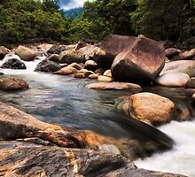 Mossman Gorge, Daintree QLD, Wide Angle by mikeofthethomas