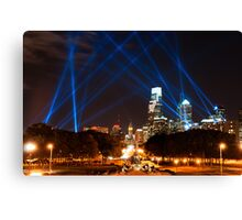 Philadelphia's Open Air Event Canvas Print