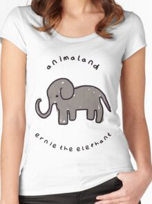 Ernie the Elephant Women's Fitted Scoop T-Shirt