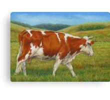 On The Moove Canvas Print