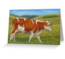 On The Moove Greeting Card