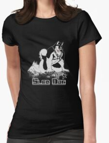 Sled Dog (Harness) Womens Fitted T-Shirt