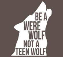 Be A Werewolf (v2; 2.0) by sstilinski