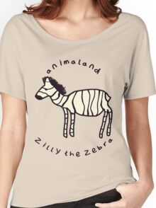 Zilly the Zebra Women's Relaxed Fit T-Shirt