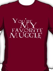 Favorite Muggle (American Spelling) T-Shirt