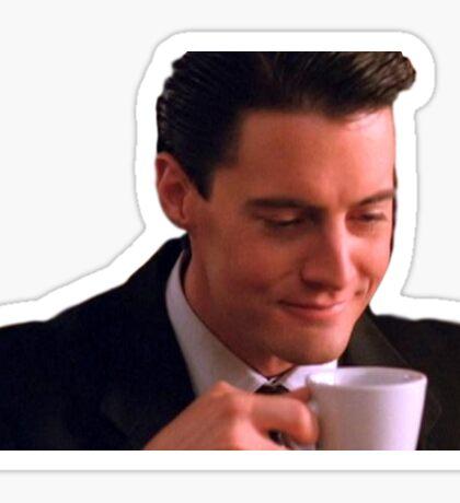 Dale Cooper Coffee Sticker Sticker