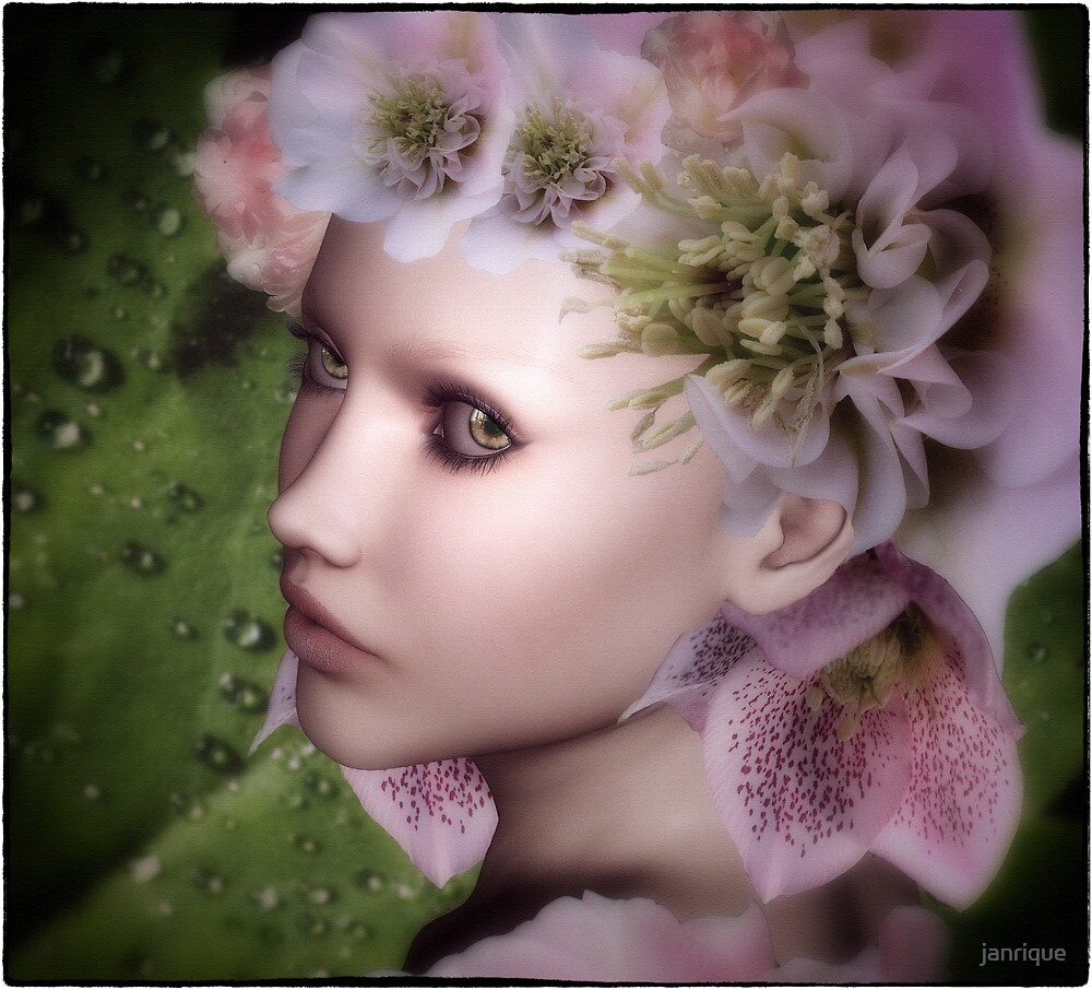 The Flower Maiden by janrique
