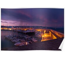 Port of Antibes Poster