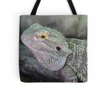 Portrait of a Dragon Lizard Tote Bag