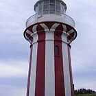 Red-striped lighthouse by Paul Watson