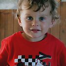 Sam aged 3 by Caroline Anderson