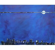 THANKYOU   Blue moon top ten place Photographic Print