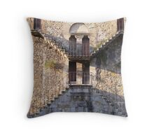 Complementary stairs Throw Pillow