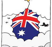 Emigrating Australia Card by springwoodbooks