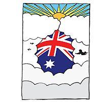 Emigrating Australia Card Photographic Print