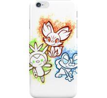 Pokemon squad 6th generation iPhone Case/Skin