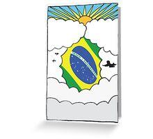 Emigrating Brazil Card Greeting Card