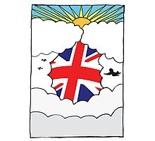 Emigrating To Great Britain Card Photographic Print