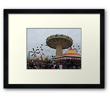 Side Show Alley Framed Print