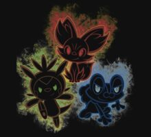Pokemon squad 6th generation Kids Clothes