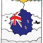 Emigrating To New Zealand Card by springwoodbooks