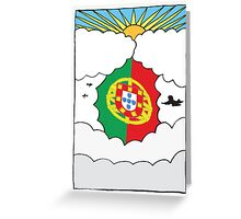 Emigrating To Portugal Card Greeting Card