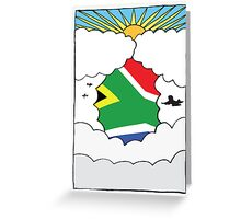 Emigrating To South Africa Card Greeting Card