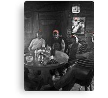 Time to Cowboy up & ride them Harleys at Desperados Cowboy Restaurant! Canvas Print