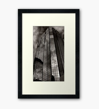 Glass Tower Framed Print