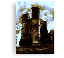 Donnington Castle, Berkshire, England 1926 Canvas Print